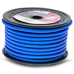 Aerpro MX420B 4 AWG Gauge MAXCOR Series Blue Power Cable Wire