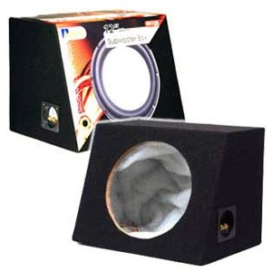 "Aerpro SB12100 12"" Sealed Subwoofer Box"
