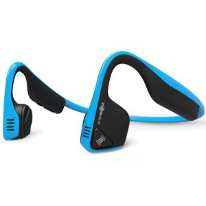 Aftershokz Trekz Titanium Wireless Bone Conducting Headphone BLU