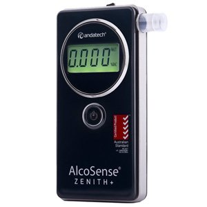Andatech AlcoSense Zenith+ Plus Fuel Cell Alcohol Breathalyser