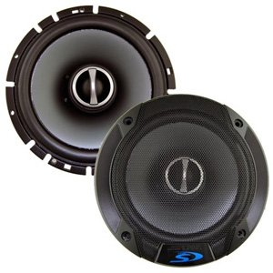 "Alpine SPS-610G 6.5"" Type-S 80W RMS Coaxial Speakers"
