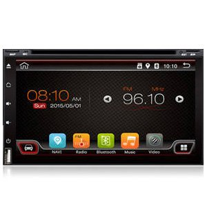 "Android DVD 7"" Touch Display GPS Bluetooth 3G WiFi Apps Receiver"