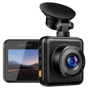 Apeman C420A 1080P Full HD Dash Camera Night Vision Motion Detection