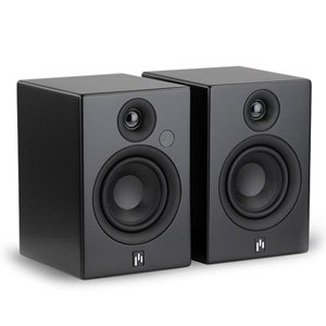 Aperion Allaire Bluetooth Bookshelf Speakers (Matt black, Pair)