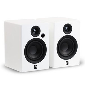 Aperion Allaire Bluetooth Bookshelf Speakers (Pure White, Pair)
