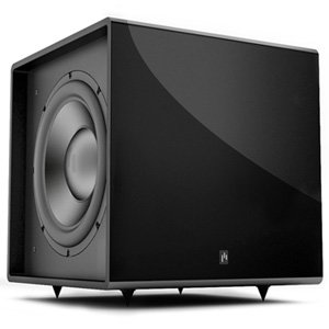 Aperion Bravus II 12D 650W Powered Subwoofer (Black Gloss)