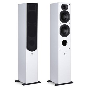 Aperion Intimus 5T Tower Speakers (Pair, Pure White)