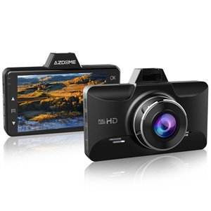 "AZDOME 3"" HD 1080P IPS LCD Screen Dash Cam Car Camera Recorder"