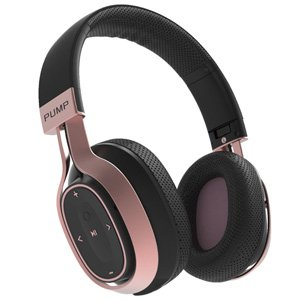 Blueant Pump Zone Wireless Bluetooth Headphones Black Rose Gold