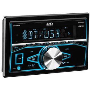 Boss Audio 820BRGB Bluetooth Mechless Car MP3 USB SD AM FM Stereo