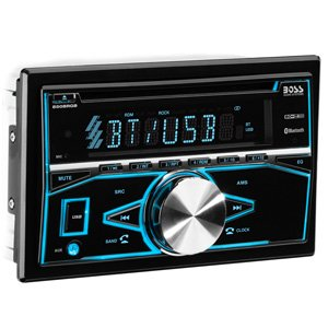 Boss Audio 850BRGB Double DIN Bluetooth CD Radio Car Receiver