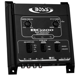 Boss Audio BG200 Car Bass Generator Processor w/ Remote Control