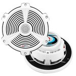 Boss Audio MR752C 7.5 2-Way Marine 400W Speakers Pair White