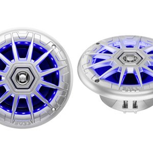 "Boss Audio MRGB65S 6.5"" Marine Speakers w/ RGB Illumination"