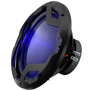 "Boss Audio PD12LED 12"" 800W RMS Dual 4 Ohms Subwoofer"