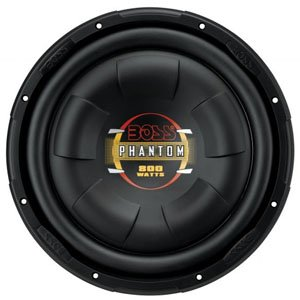 "Boss Audio D10F 10"" Shallow Mounted Subwoofer"