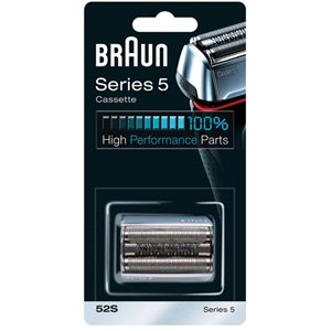 Braun 52S Series 5 Replacement Foil & Cutter Silver