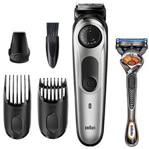 Braun BT5260 Precision Beard Trimmer & Gillette Fusion5 ProGlide Razor