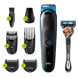 Braun MGK3245 7-in-1 Beard & Face Trimmer Shaver Hair Clipper Styling