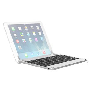 "Brydge 9.7 Bluetooth Keyboard for iPad Air 1 2 Pro 9.7"" Silver BRY1011"