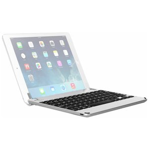 Brydge 10.5 Bluetooth Keyboard Backlit for iPad Pro 10.5 Air 3 Silver