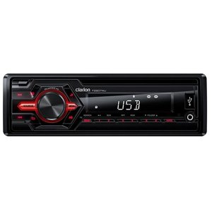 Clarion FZ207AU USB AUX-IN SD MP3 WMA Mechless Audio Receiver