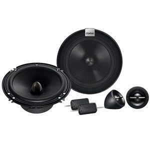 "Clarion SH1624S 6"" SH Series 2-Way 400W Component Speakers"