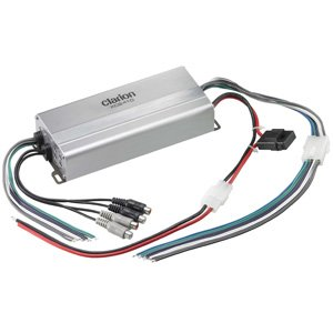 Clarion XC2410 4/3/2 Channel Micro Class-D Car Marine Amplifier