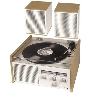 Crosley Switch II Bluetooth Entertainment Turntable Shelf System
