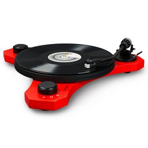 Crosley C3 Belt Driven Turntable 2-Speed AT Cartridge Red