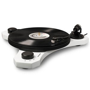 Crosley C3 Belt Driven Turntable 2-Speed AT Cartridge White