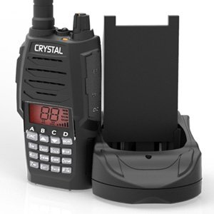 Crystal DBH50R 5W 80-Channel UHF CB Handheld Radio