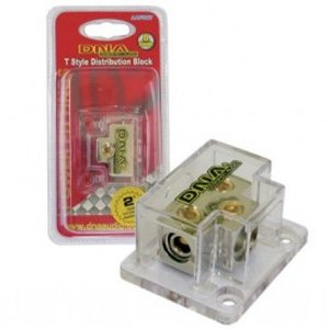 DNA AAF007 T Style Distribution Block 1x 0/2 To 2x 4/8 Gauge