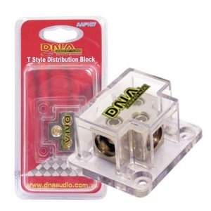 DNA AAF107 T Style Distribution Block 1x 4/8 To 2x 4/8 Gauge