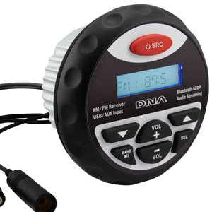 DNA MA3BT Marine Bluetooth USB / MP3 Player With AM/FM Tuner