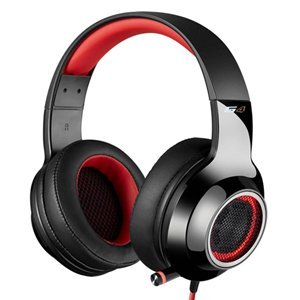 Edifier V4 G4 7.1 Virtual Surround Sound USB LED Gaming Headset Red