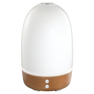 Homedics Ellia Thrive White Ultrasonic Light Oil Aroma Diffuser