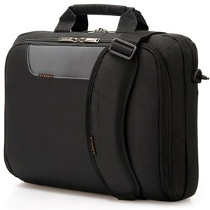 "Everki 14.1"" Advance Compact Briefcase Laptop Bag EKB407NCH14"