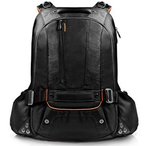 "Everki 18"" Beacon Laptop Backpack w/ Gaming Sleeve EKP117NBKCT"