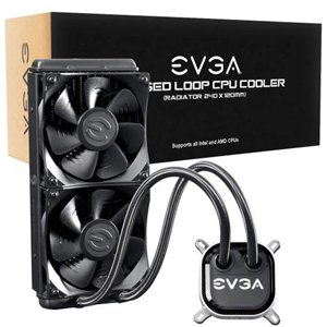 EVGA CLC 240 RGB LED 240mm Liquid CPU Cooler 400-HY-CL24-V1