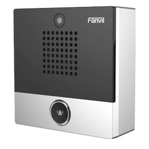 Fanvil I10V SIP Mini Intercom Voip Door Bell Video Camera H264 Stream