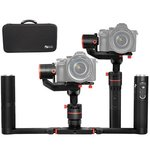 Feiyu A1000 + Dual Grip 3-Axis Handheld Stabilized Gimbal