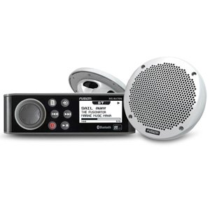 "Fusion MS-RA70N Bluetooth Stereo with MS-EL602 6"" Speakers Bundle Kit"