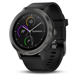 Garmin Vivoactive 3 GPS Smartwatch Black / Gunmetal Grey