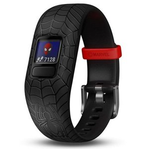 Garmin Vivofit Jr 2 Activity Tracker Sleep Swim Spiderman Black