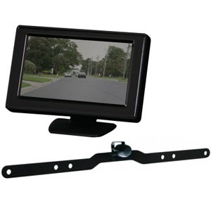 "Gator G427 4.3"" Reverse Monitor Camera Wired Kit"