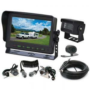 "Gator GT70SDTK GT Series 5"" Monitor Dual Reverse Camera w/ Trailer Kit"