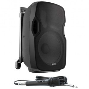 "Gemini Portable PA 10"" Active Battery-Powered Loudspeaker AS-10TOGO"