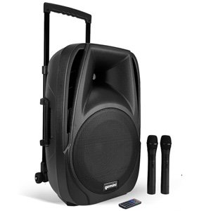 "Gemini 15"" Active 800W Bluetooth Battery PA Loudspeaker ES-15TOGO"