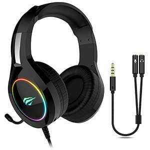 Havit HV-H2232D Gaming RGB Headset for PS4 PC Xbox Phone Tablet